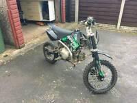 Superstomp 125cc pitbike not quad/crosser/field bike