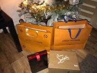 Louis Vuitton run away trainers brand new