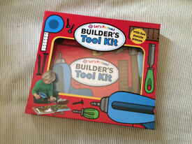 Builders toolkit (interactive learning) Hardback Kids Book.