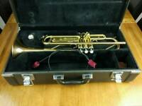 Trumpet yamaha ytr 4335 g in excellent condition no dents, scratches
