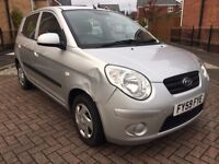 2009 59 KIA PICANTO 1.0 1 5 DR HATCHBACK 11 MONTH'S M.O.T BARGAIN