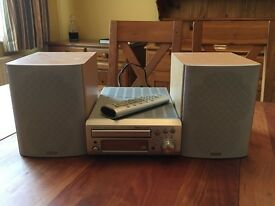 Denon UDM31 Stereo - CD receiver and speakers