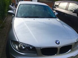 Silver BMW 1 series 1.6 clean and good condition