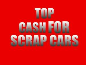 Call 416-529-6625  We pay top $$$ CASH ON the SPOT for UNWANTED Cars, SUVS ,Truck, Vans, Mini Vans, Bus etc. (Any Type..