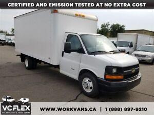 2011 GMC Savana 3500 16Ft 6.6L V8 Diesel Cube Van