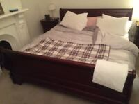 Queen sized bed and matress