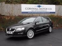 VOLKSWAGEN PASSAT 2.0 HIGHLINE TDI 5d 138 BHP RECENT CAMBELT AND SER (black) 2008