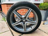 Genuine Mercedes C Class AMG Alloy Wheel x 1.