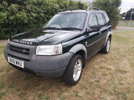 2001 Land Rover FREELANDER td4 2.0 diesel, leather, MOT 2019 SUV (jeep, volvo,pajero, sorento)