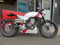 EVOLUTION MOTOR WORKS - * New* FB MONDIAL 125cc HPS - £2999. ORDINARILY £3599 - **SAVING OF £600**