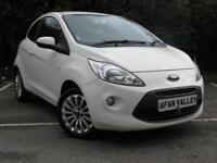 Ford Ka Zetec 3dr **FULL SERVICE HISTORY** (white) 2012