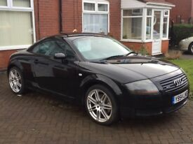 AUDI TT Quattro, 1.8 Turbo, Black, 225bhp