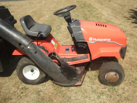 HUSQVARNA LTH 130 RIDE ON LAWNMOWER