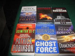 Patrick Robinson books $1 each or $5 for the lot