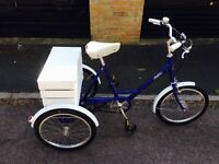 Serviced - Pashley Tricycle with storage box