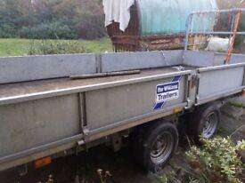 Williams transporter trailer 16ft tip bed