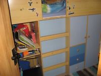 Blue Cabin Bed for sale