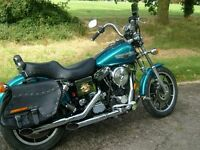HARLEY DAVIDSON FXDS convertible