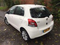 2011 Toyota Yaris 1.0 VVTI SAT NAV 5 Door T Spirit £30 Tax FTSH Sat Nav 1 Owner Park Aid