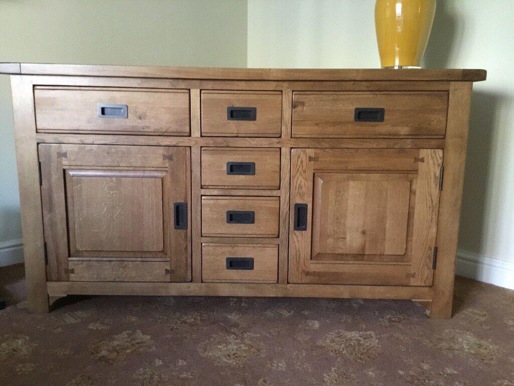 Multiyork Radley Oak Sideboard And Coffee Table