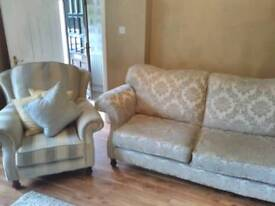 3 Seater 2 Armchairs Sofa