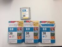 Genuine HP 38 Ink Cartridges