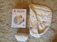 infant insert for Ergobaby 360 sling - organic
