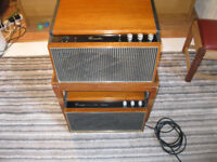 Hacker Grenadier stereo record player vintage