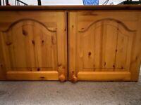 Wooden storage cupboard, excellent condition