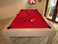 2 MONTHS OLD SNOOKER TABLE