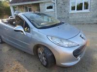 2008 (08) Peugeot 207 CC, 1.6 GT HDI