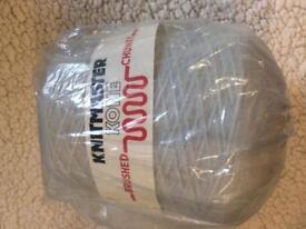 Knitmaster Kone Brushed Chunky Wool 500g Made in UK wool cone