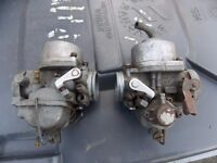 1970s Honda CB500T Carburettors for refurbishment