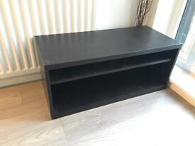 IKEA black TV stand, great condition fits most TVs