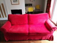 Red Ikea Sofa Bed