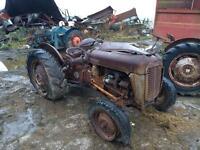 2 Ferguson grey gold 35 diesel tractors