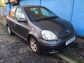 TOYOTA YARIS 1.2 COLOUR COLLECTION £595