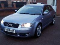 Audi a3 1.6fsi mint condition £1090