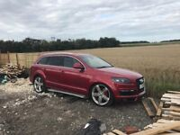 Audi Q7 spares or repairs non runner