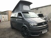 2014 VW TRANSPORTER T5 .1 POP TOP 4 BERTH NEW CONVERSION 2TD 6 SEATER CAMPERVAN 102BHP