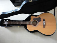 Walden 550CE electic acoustic guitar fishman pickup