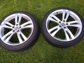 2 x 5 x 108pcd wheels