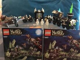 Lego monster fighters ghost train 9467