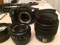 Pentax K30 + accessories