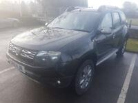 Black Dacia Duster 1.5 dCi Laureate 5dr FSH Warranty Til 31/03/2019