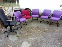 6 x Office chairs