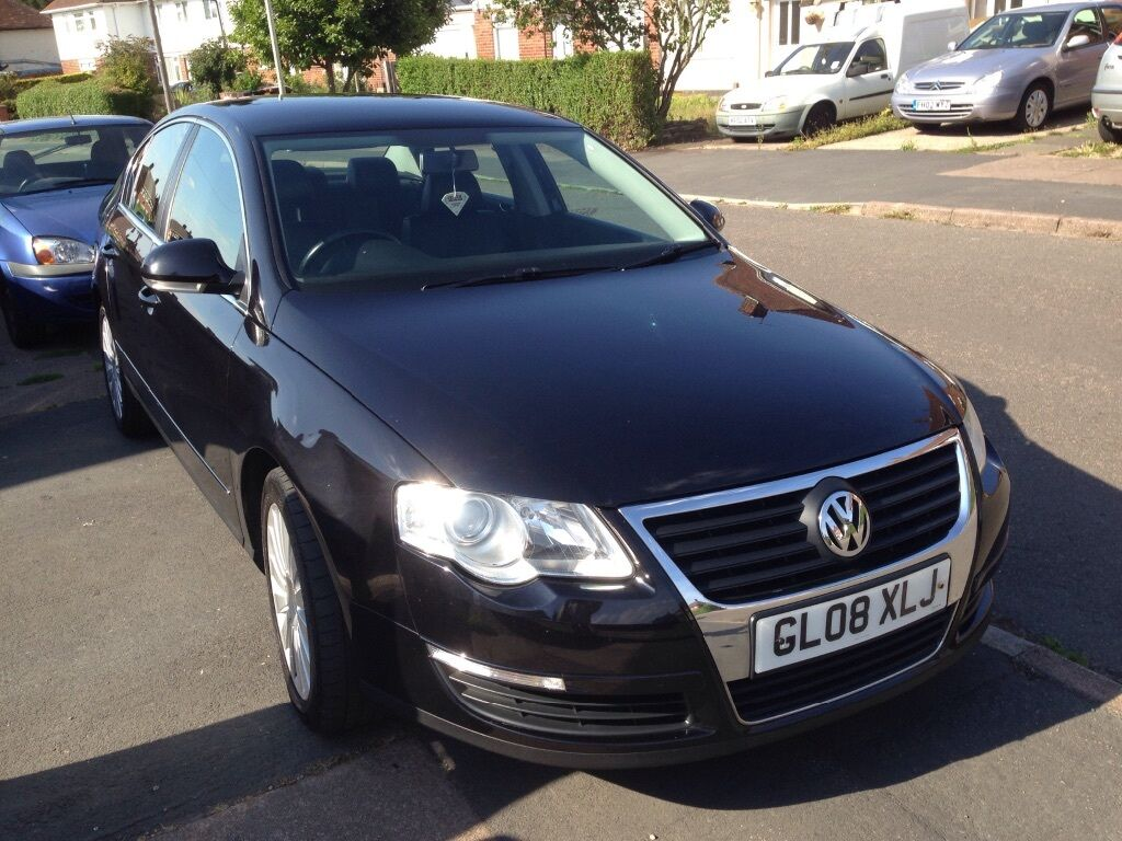 2008 volkswagen passat highline tdi in leicester leicestershire gumtree. Black Bedroom Furniture Sets. Home Design Ideas