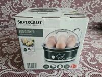 EGG COOKER WITH ELECTRONIC TIMER