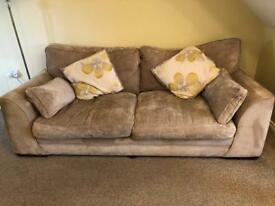 SCS Vancouver Settee, Snuggle Chair, Storage Footstool