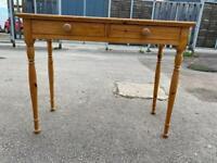 Pine hall table